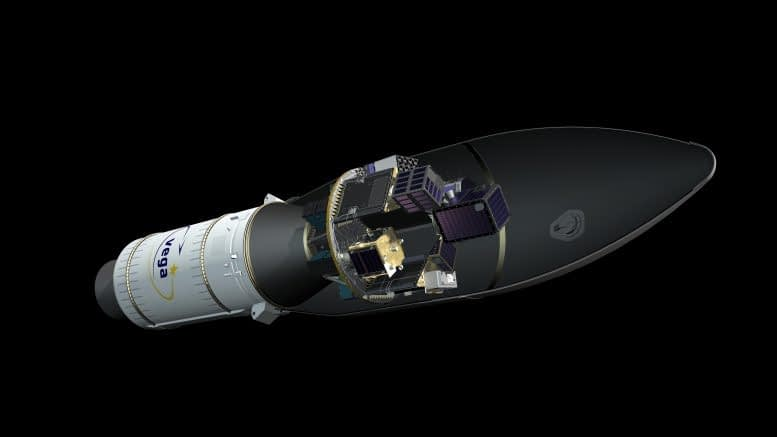Vega VV16 Launched, Carrying PhiSat-1 with Ubotica AI Technology on Board