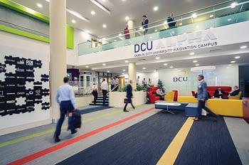 DCU Alpha building inside