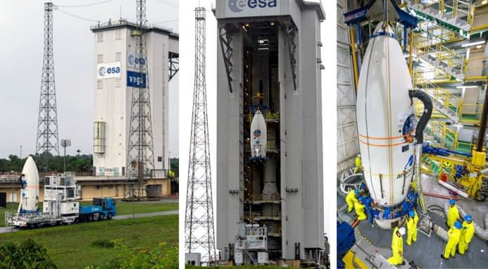 Arianespace launch site