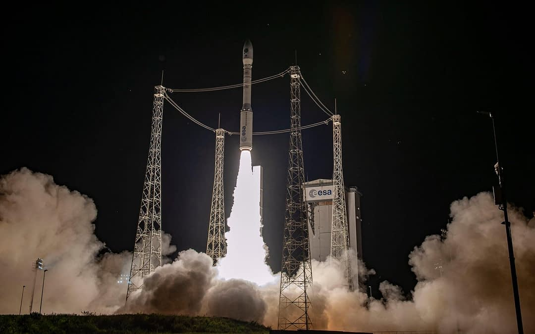 Successful Launch of Ground-breaking AI-enabled Earth Observation Satellite